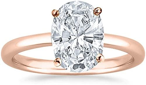 Read more about the article 2 Carat 18K White Gold Oval Cut GIA Certified Solitaire Diamond Engagement Ring D Color VS1 Clarity