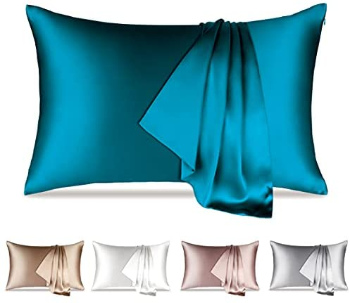 Read more about the article Silk Pillowcase, Soft Breathable Dual Sides Silk Pillowcase for Hair and Skin 600 Thread Count Natural 100% Pure Mulberry Silk Pillowcase