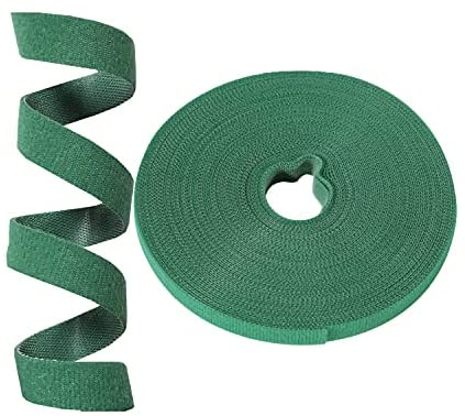 Read more about the article Auuyiil Plant Ties Garden Ties Reusable Nylon Plant Tie Strap ,Tree Ties and Plant Supports for Effective Growing,Grape Tie,Tomato Tie (50 ft x 0.47 Inch, 1 roll,green)