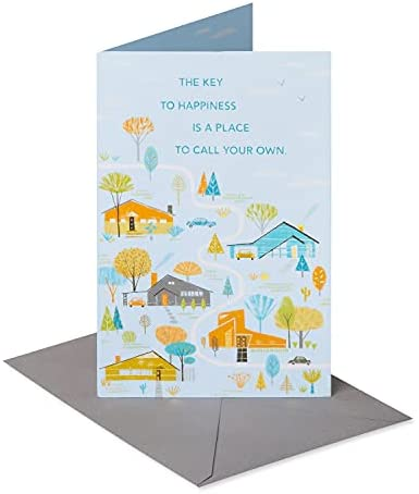 Read more about the article American Greetings Congratulations New Home Card (Place To Call Your Own)