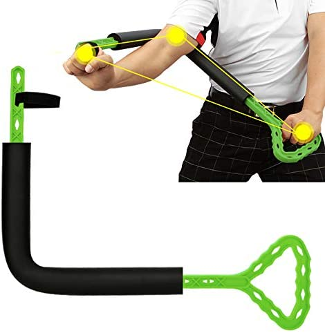 Read more about the article hadgethey Golf Swing Training Aid, Golf Posture Correction Improving Gesture Forming The Correct Muscle Memory, Golf Wrist Swing Trainer Accessorie