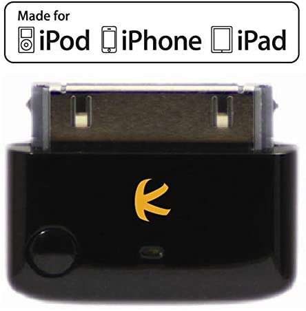 Read more about the article KOKKIA i10 (Black) : Apple MFi Certified Bluetooth Splitter Transmitter (to 2 Stereo Receivers).Compatible to Apple iPod,iPhone,iPad with 30-pin connector.Compatible streaming to 2 Sets Apple AirPods.