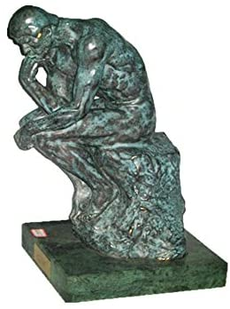 Read more about the article Toperkin Small Size Classical Figure Sculpture The Thinker Home Decor Brass Statue TPE-1020