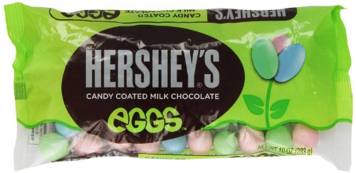 Read more about the article Hershey's Candy Coated Milk Chocolate Eggs, 10-Ounce Bag (Pack of 2)