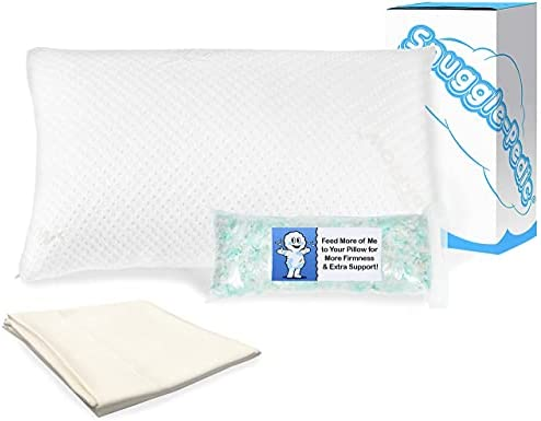 Read more about the article Snuggle-Pedic King Adjustable Memory Foam Pillow and Pillowcase Bundle