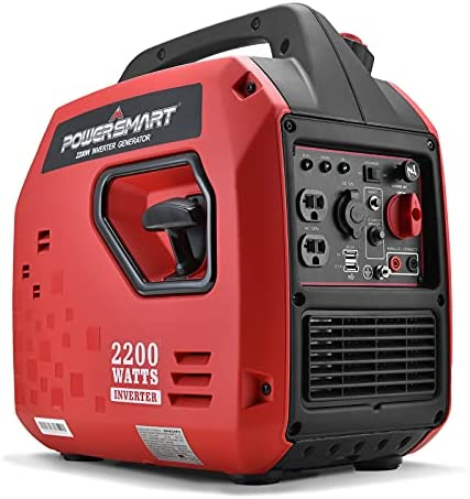 Read more about the article Powered Portable Inverter Generator,1900W Rated & 2000W Peak Watts Super Quiet Generator,Fuel Shut Off,Gas Generator for Outdoors Camping Travel Hunting Emergency,CARB Compliant Red/Black,PS5025