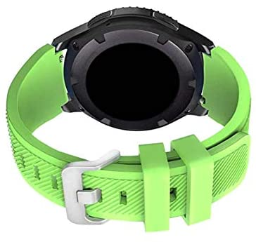 Read more about the article Dunfire Replacement Straps for 22mm Samsung Gear S3 Frontier/ S3 Classic, Compatible with 46mm Galaxy Watch/Moto 360 2nd Gen Man, Accessory Silicone Wristbands for Men and Women