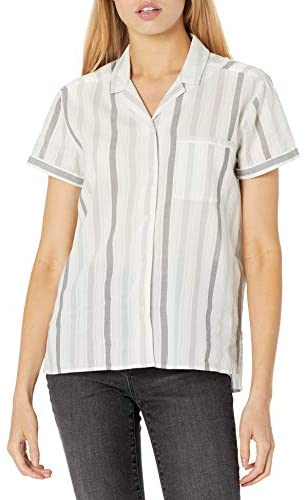 Read more about the article Amazon Brand – Goodthreads Women's Lightweight Cotton Dobby Camp Shirt