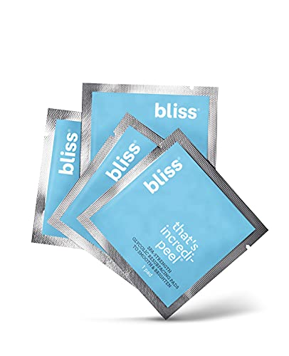 Read more about the article Bliss – That's Incredi-peel Glycolic Resurfacing Pads | Single-Step Pads for Exfoliating & Brightening | Vegan | 15 ct.