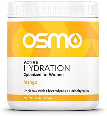 Read more about the article Osmo Nutrition Active Hydration Mix | Optimized for Women | Electrolyte Powdered Drink | Avoid Premenstrual Performance Decline | Improve Power & Endurance | All Natural | Mango | 40 Servings