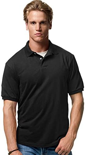Read more about the article Hanes Cotton-Blend Jersey Men's Polo