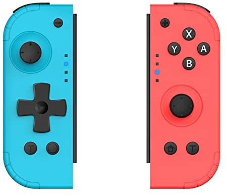 Read more about the article [2020 Newest Version] Wireless Joypad Controllers for Nintendo Switch, Replacement Nintendo Switch Joycon with Turbo Function Ergonomic New Shape for Comfortable Hold (Wake-UP Version)