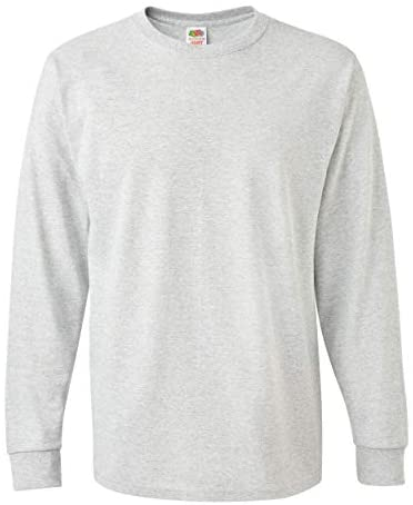 Read more about the article Fruit of the Loom Mens HD Cotton Long Sleeve T-Shirt 4930R