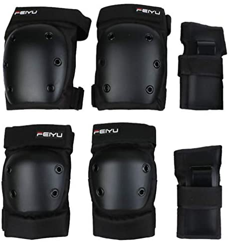 Read more about the article BESPORTBLE 6Pcs Skateboarding Protective Gear Set Knee Pads Elbow Guard Wrist Guards Pad for Skating Sports Roller Blading Size XS