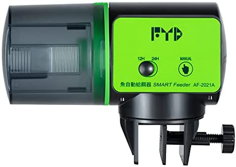 Read more about the article FYD Automatic Fish Feeder, Aquarium Auto Fish Feeder Food Timer Dispenser for Small Fish Tank, Vacation, Holidays