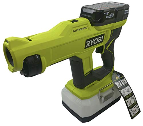 Read more about the article RYOBI ONE+ 18V Cordless Handheld Electrostatic Sprayer Kit with (1) 2.0 Ah Battery and Charger