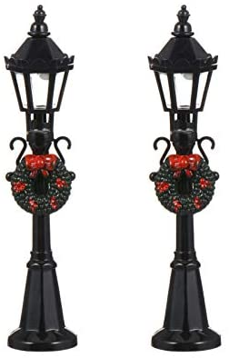 Read more about the article NUOBESTY 2Pcs Mini Street Post Lights Model Railway Train Lamp Post Lights Miniature Christmas Village Pathway Lantern Post for DIY Dollhouse Micro Landscape Fairy Garden Accessories