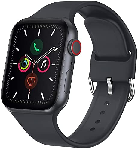 Read more about the article RARF Sport Bands Compatible with Apple Watch 38mm 40mm 42mm 44mm for Women Men, Soft Silicone Sport Replacement Strap Compatible with iWatch SE Series 6/5/4/3/2/1