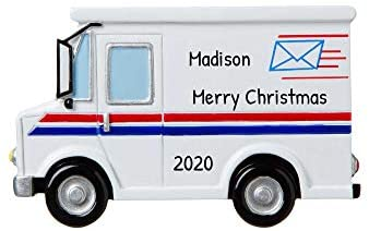 Read more about the article Personalized Postal Worker Christmas Tree Ornament 2021 – Postman Letter Carry Mail Holiday United States Service Parcel Office Coworker Profession New Job Online Shopper Year – Free Customization