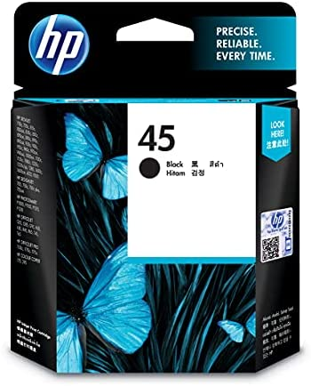 Read more about the article HP 45 | Ink Cartridge | Black | 51645A