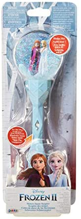 Read more about the article Frozen 2 Sisters Musical Snow Wand Costume Prop Scepter, Plays Into The Unknown Perfect for Child Costume Accessory, Role Play, Dress Up or Halloween Party