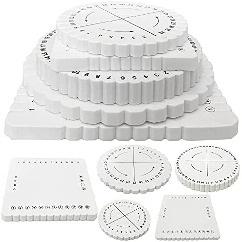 Read more about the article 5 Pcs Braiding Disk,Round Square Beading Cord Disc,Braided Plate Foam Looms for Braiding,DIY Bracelet,Weaving,White