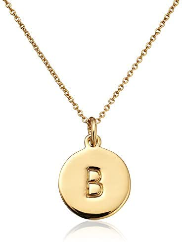 Read more about the article kate spade new york Gold-Tone Alphabet Pendant Necklace, 18″