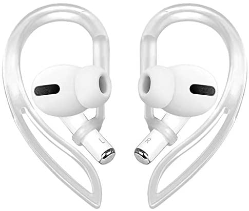 Read more about the article Ear Hooks Compatible with AirPods Pro [Multi-Dimensional Adjustable] Accessories Compatible with Apple AirPods (Transparent)
