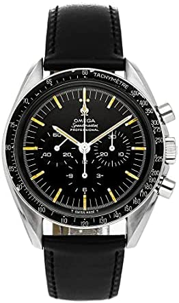Read more about the article Omega Vintage Manual Wind Black Dial Watch 145.012 (Pre-Owned)