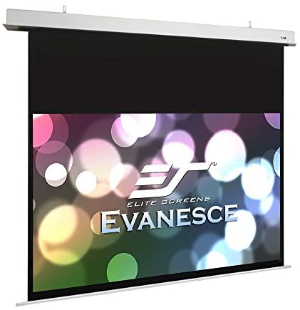 Read more about the article Elite Screens Evanesce Series, 106″ Diagonal 16:9, in-Ceiling Electric Screen with Installation Kit, 8k 4K Ultra HD Ready Matte White with Fiberglass Reinforcement Projection Screen Surface (IHome106HW2-E18)