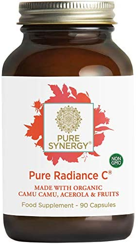 Read more about the article Pure Synergy Pure Radiance C | 90 Capsules | Made with Organic Ingredients | Non-GMO | Vegan | 100% Natural Vitamin C with Organic Camu Camu Extract