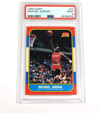 Read more about the article 1986-87 Fleer Michael Jordan #57 Rookie PSA 9 – Basketball Cards