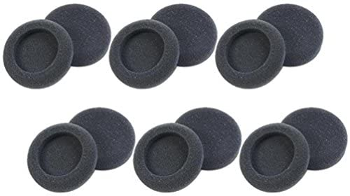 Read more about the article Plantronics 15729-05 Replacement Foam Ear Cushion (6-Pair), Black for use with H51, H51N, H61, H61N, H91, H91N, H101, H101N, SP04, SP05, PLX400 and PLX500 Headsets