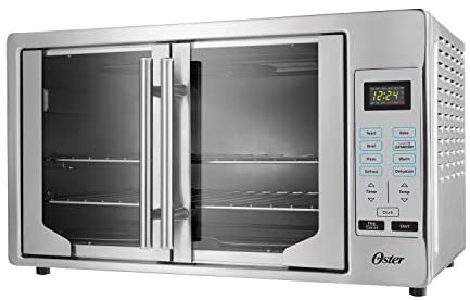 Read more about the article Oster French Convection Countertop and Toaster Oven | Single Door Pull and Digital Controls | Stainless Steel, Extra Large