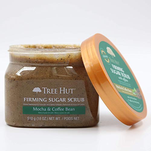 Read more about the article Tree Hut Mocha & Coffee Bean Sugar Scrub, 18 Ounce (Pack of 3)