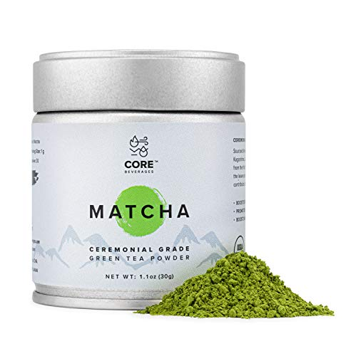Read more about the article Organic Matcha Green Tea Powder 30 g (1.1 oz) | Ceremonial Grade Matcha |Premium First Harvest Japanese Origin| USDA and JONA Organic | Energy and Metabolism Booster