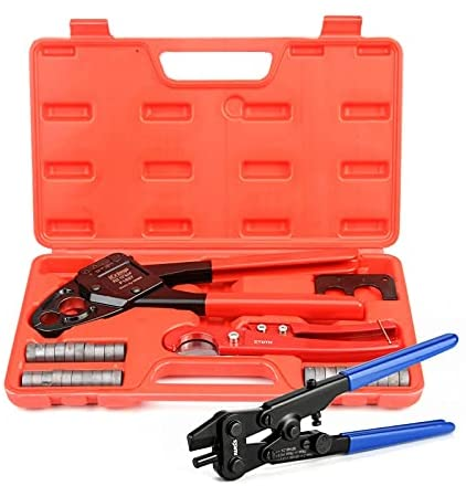 Read more about the article IWISS 1/2″&3/4″ Angle Head F1807 PEX Pipe Crimping Tool for Copper Rings w/Removal Tool