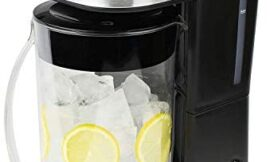 Iced Tea & Iced Coffee Maker with Strength Selector and 64 Oz Capacity Pitcher