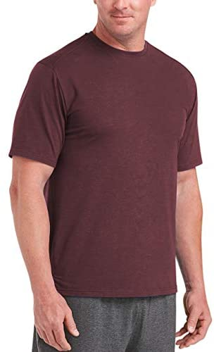 Read more about the article Amazon Essentials Men's Big & Tall Performance Cotton Short-Sleeve T-Shirt fit by DXL