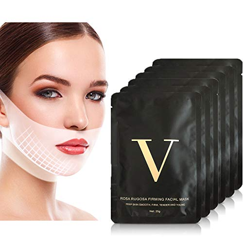 Read more about the article 6Pcs Double Chin Reducer Face Slimming Strap V Shape Slimming Mask Face Slimmer Lift Tape V Line Lifting Mask Chin Up Patch Tightening Firming Neck