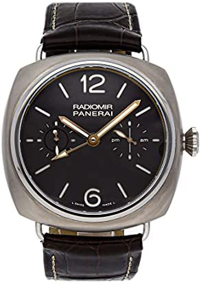 Read more about the article Officine Panerai Radiomir Tourbillon GMT Titanio Manually Wound Watch PAM 00315