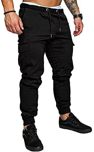 Read more about the article lexiart Mens Fashion Casual Cargo Pants Workout Athletic Cotton Sport Gym Pants Sweatpants Trousers