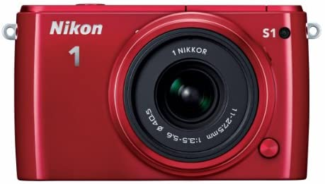 Read more about the article Nikon 1 S1 10.1 MP HD Digital Camera with 11-27.5mm 1 NIKKOR Lens (Red)