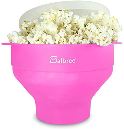 Read more about the article Original Salbree Microwave Popcorn Popper, Silicone Popcorn Maker, Collapsible Bowl – The Most Colors Available (Pink)