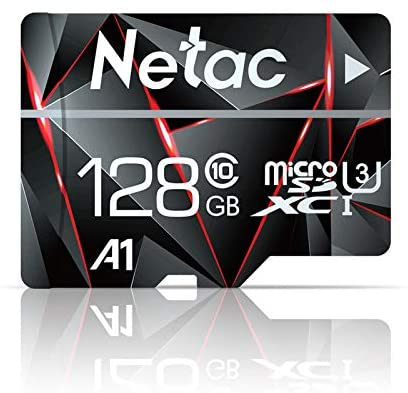 Read more about the article 128GB Micro SD Card, Netac Memory Card MicroSD High Speed Transfer A1 C10 U3 MicroSDXC TF Card for Cemera/Phone/Nintendo-Switch/Galaxy/Drone/Dash Cam/GOPRO/Tablet/PC/Computer with Adapter