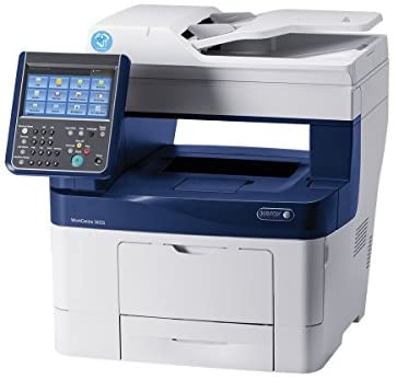 Read more about the article Xerox 3A6136 WorkCentre 3655iSM Printer/Copier/Scanner – Blue/White