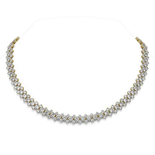 Read more about the article 60.5 ctw Cushion Cut Diamond Designer Necklace 18K