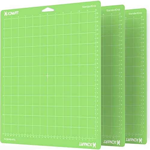 Read more about the article Xinart StandardGrip Cutting Mat for Cricut Maker 3/Maker/Explore 3/Air 2/Air/One(12×12 Inch, 3 Mats) Standard Adhesive Sticky Green Quilting Cricket Cutting Mats Replacement Accessories for Cricut