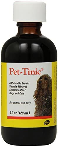 Read more about the article Pfizer Animal Pet-Tinic Vitamin-Mineral Supplement for Dogs and Cats, 4-Ounce by Pfizer Animal