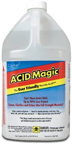 Read more about the article CERTOL INTERNATIONAL USA/128-1 Muriatic Replacement Acid, 1-Gallon Pack of 2